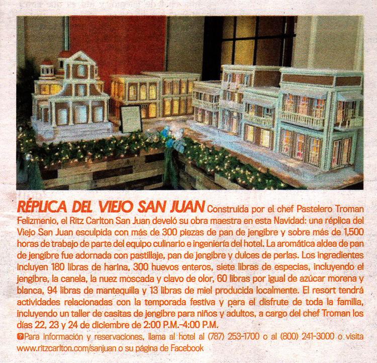 Pastel old san juan Troman Felizmenio Ritz Carlton cronica urbana - Pastel rinde homenaje al Viejo San Juan