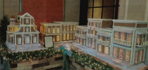 Bizcocho - Pastel en forma del viejo san juan por Troman Felizmenio del Ritz Carlton.