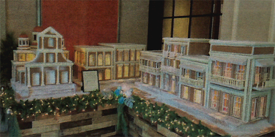 Troman Felizmenio old san juan Ritz Carlton cronica urbana - Pastel rinde homenaje al Viejo San Juan