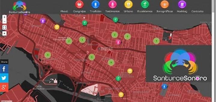 Cartografía sonora del territorio Santurcino proyecto de sonidos.