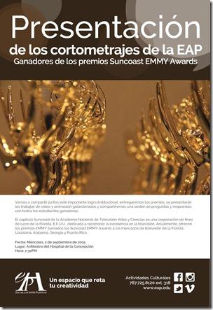 Cortometrajesuncoast EMMY Awards en EAP_autogiro arte actual
