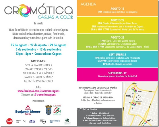 Sábados Cromáticos en Caguas_autogiro arte actual