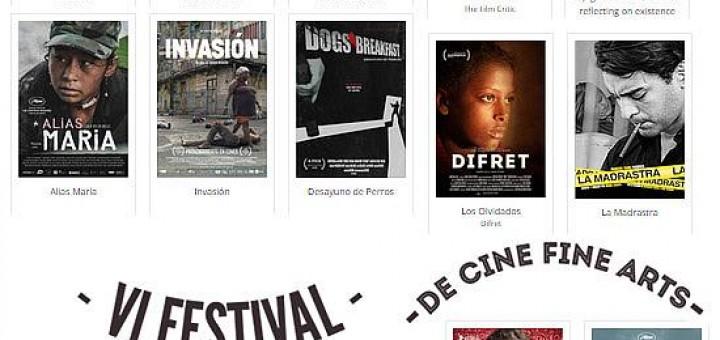 VI festival de cine Fine Arts