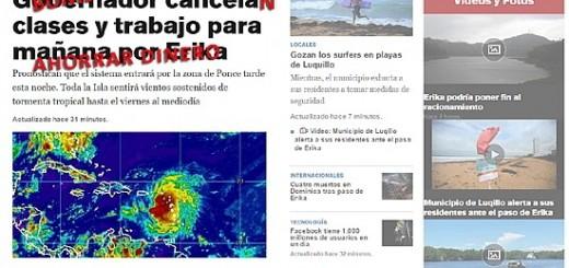 Parodia de titular de periódico Bonistas cancelan clases y trabajo para ahorrar dinero.
