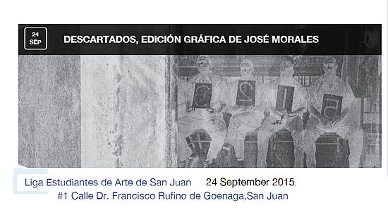 José Morales-Descartados en la Liga de Arte-autogiro arte actual