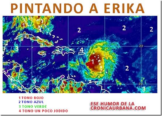 PINTANDO A ERIKA thumb - Pintando a Erika -Humor en la tormenta 2