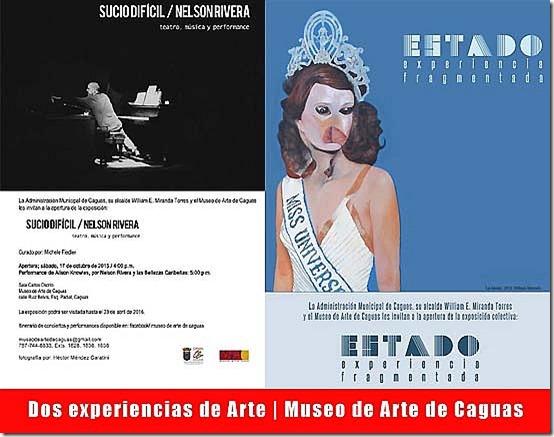 Dos experiencias de Arte-Museo de Arte de Caguas-Autgiro arte actual