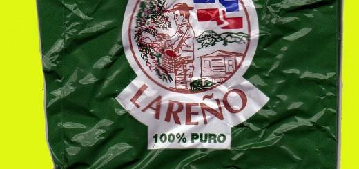 Empaque de café lareño. Elaborado y envasado por Café Lareño.