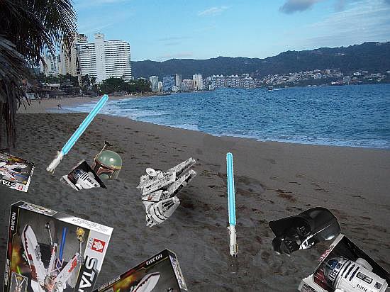 Juguetes de Star Wars aparecen en una playa de México Cronica Urbana - Juguetes Star Wars | Aparecen en Playa