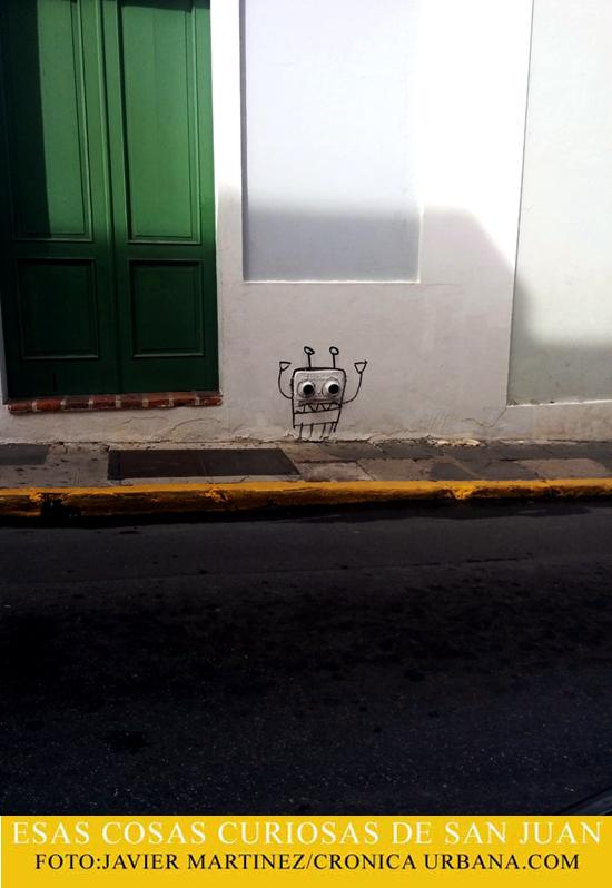 Personajes en pared | crónica urbana