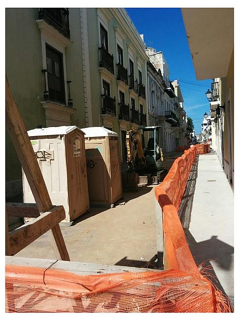 Calle Luna alcaldia en construccion cronica urbana - Calle Luna en la Luna