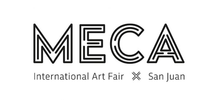 MECA Art Fair logo-autogiro arte actual