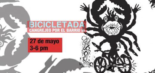 Cangrejeo bicicletada  Santurce 520x245 - Cangrejeo por el Barrio III | MAC