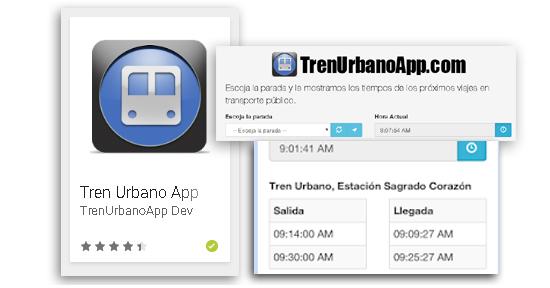 Tren Urbano App | cronica urbana