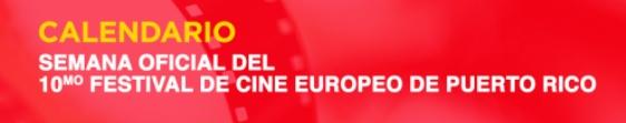 Calendario delfestival de cine europeo