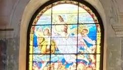 glesia san jose abre restauracion vitral