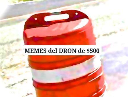 dron de $500 controversia