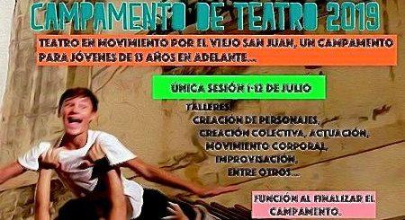 teatro en movimiento por Viejo San Juan