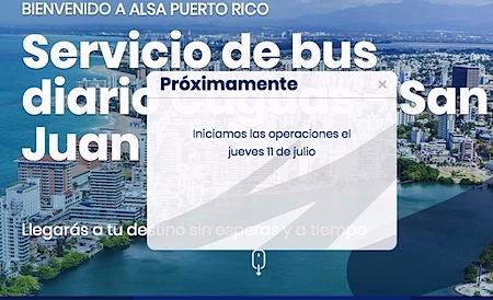 alsa inicia el 11 de julio rutas a caguas san jaun 1 - Servicio de Transporte de Caguas a Viejo San Juan