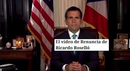 renuncia gobernador ricardo rossello