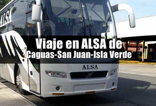 Viaje en ALSA de caguas san juan isla verde