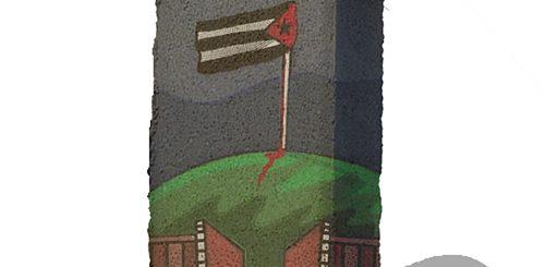 javier martinez, obra para Memoria en Adoquín,
