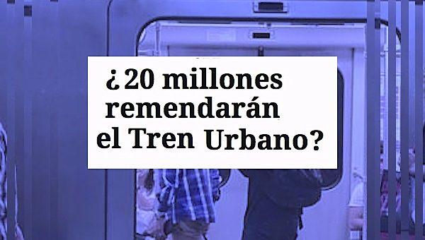 tren urbano arreglos 20 milones 600x340 - ¿20 millones remendarán a el Tren Urbano?