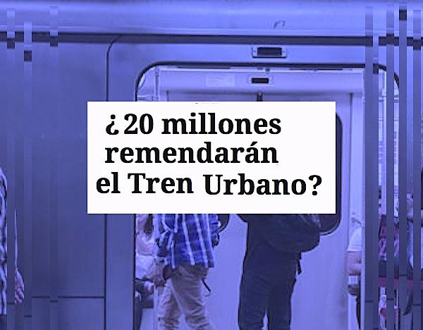 tren urbano arreglos 20 milones - ¿20 millones remendarán a el Tren Urbano?