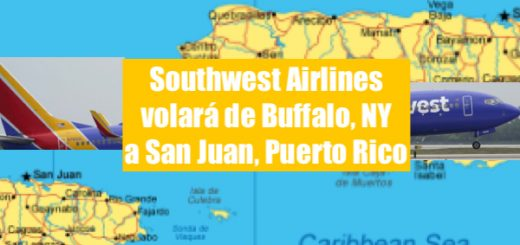 Southwest Airlines flying puerto rico