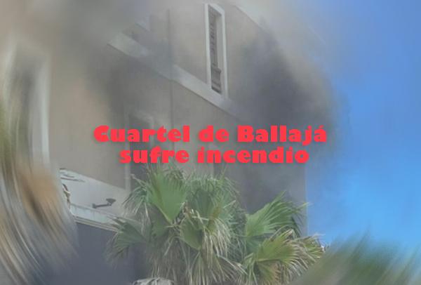 incendio en ballaja san juan - Cuartel de Ballajá sufre incendio